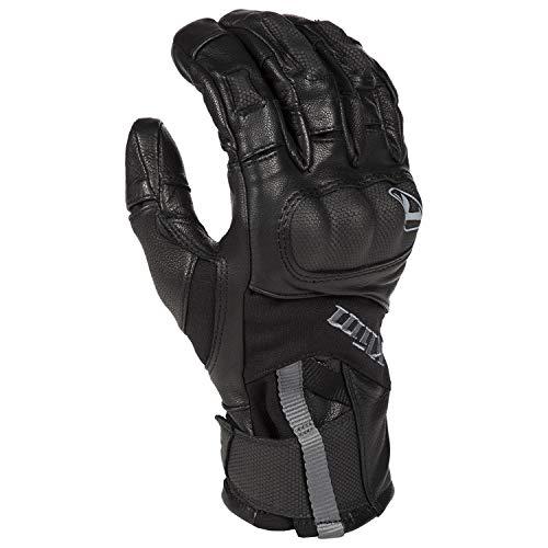 KLIM Gore Tex Handschuhe Adventure Short GTX Gloves schwarz, MD Adventure Handschuhe
