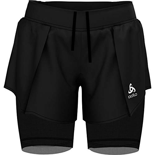 Odlo Ceramicool Pro Zeroweight 2in1 Women's Sackartige Shorts - SS19 - Small