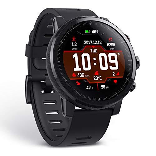 Amazfit Stratos A1619 Multisport Smartwatch (Black)