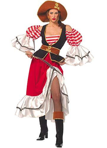 Kostüm Pirat Für Swann Elizabeth Erwachsenen - Unbekannt Stamco, Korsar Pirat, Piraten Kostüm für Damen