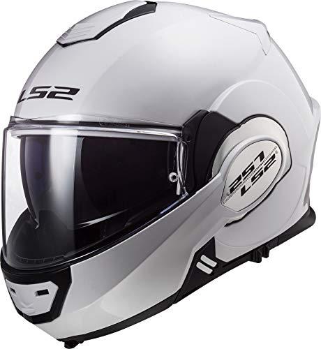 LS2 Motorradhelm VALIANT, Weiß, Größe L