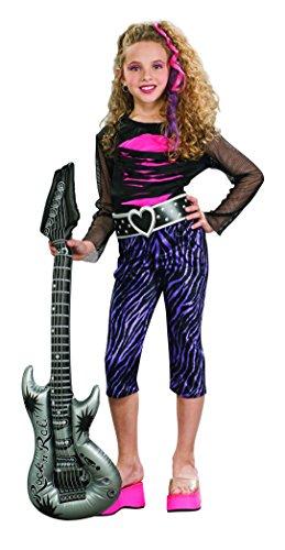 Rubie 's-Kostüm Rock Star, für Mädchen (881152) S keine Angaben (S Rubie Kostüme)