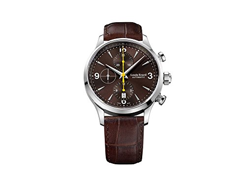 Louis Erard 1931 Chrono Automatic Watch, 42,5mm, Brown, Leather, 78225AA06.BDC21