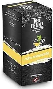 """Der-Franz Kamillentee """"Calm Chamomile"""" in Pyramidenteebeuteln, 30Teebeuteln x2,5g"""