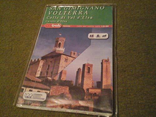 Volterra e San Gimignano 1:25.000 (Carte stradali)