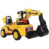 BOC Kinderspielzeug, Bagger, Bagger, Können Sitzen, Fahren, Elektrisches Spielzeug, Kinderwagen,A,Spielzeug