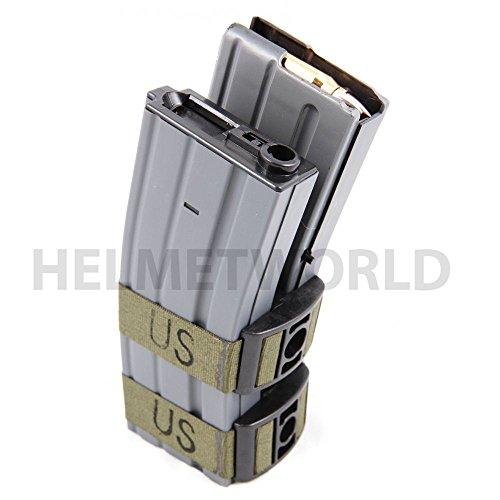 AIRSOFT M4 M16 AEG REVISTA MAG NEGRO BATTLEAXE 1000 RDS ELECTRICO DE SONIDO LEY