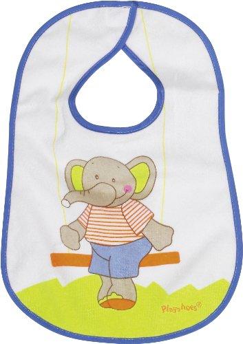 Playshoes 507196-607 - Babero con cierre de velcro, diseño de elefante, 28...