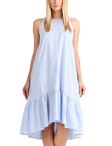 APART Fashion Summer Highlights Blue Stripes, Robe Femme Mehrfarbig (Mehrfarbig himmelblau-weiß)