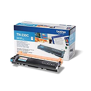 Brother TN230C Toner Cartridge, Standard Yield, Cyan, Brother Genuine Supplies