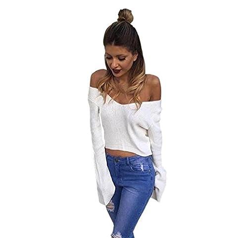 Rosennie Damen Beiläufig Jumper Pullover (M)