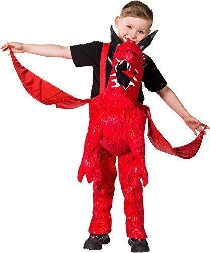 Charaktere Kostüm Kinder Besten Buch - Mädchen Jungen Schritt darauf Reiten Drachen mit Flügeln Halloween Welttag des Buches-Tage-Woche Karneval Kostüm Kleid Outfit