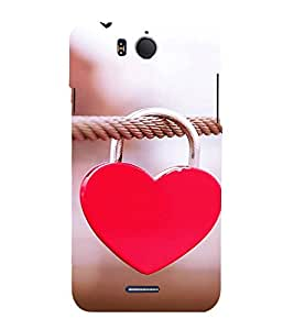Fiobs rope love lock Designer Back Case Cover for InFocus M530