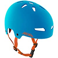 Rekd Elite Casco, Unisex Adulto, Azul/Naranja, 54-55 cm