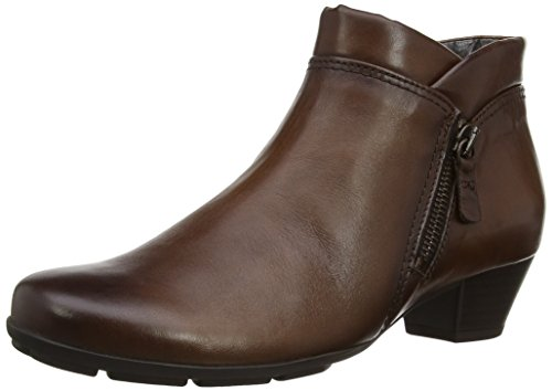 Gabor Emilia L, Damen Kurzschaft Stiefel Braun (brown Leather Warm)