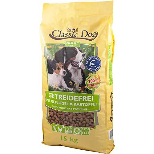 Classic Dog Geflügel & Kartoffel   15kg getreidefreies Hundefutter