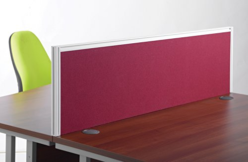 Ecran de séparation de bureau cm tissus bleu meubles de bureaux