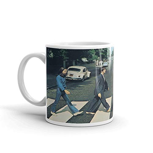 Claude6yhAly The Beatles Abbey Road Klassischer Rock-Album-Cover 11 Unzen Kaffeetasse