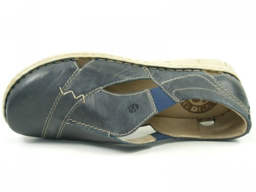 Josef Seibel Jane 07 66507 95 234 Damen Slipper Blau