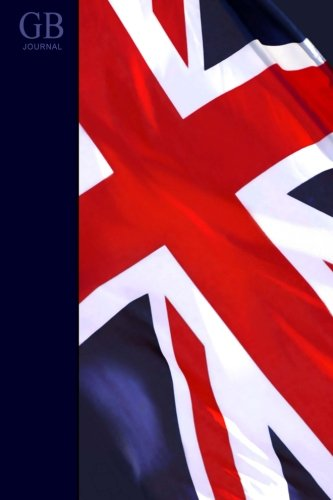 Gb Journal: Large Notebook With Union Jack Flag