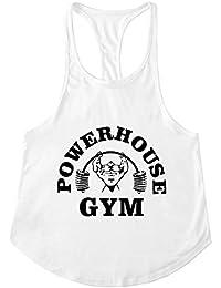 Cabeen Hombre Camisetas de Fitness Sport Vest Stringer sin Mangas Tank Top  para Culturismo 564191991bc