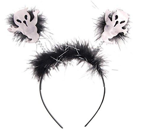 Cerchietto con fantasmi - halloween e carnevale