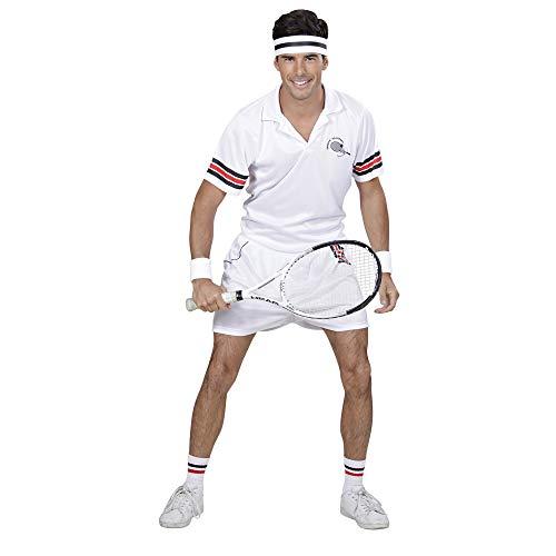 Profi Kostüm Tennis - Widmann - Erwachsenenkostüm Tennisspieler