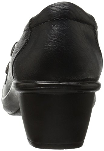 Easy Street Edison Large Synthétique Mocassin Black