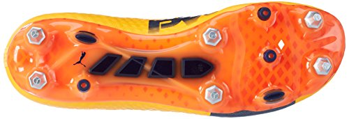 Puma Herren evoPOWER Vigor 1 MX SG Fußballschuhe, 40 EU Orange (Ultra Yellow-Peacoat-Orange Clown Fish 02)
