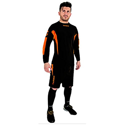 Legea kit Torwart Wembley Herren Jungen Fußball Trikot Shirt Short Hosen Klein Armel Hallenfußb (XL, - Kurzarm Torwart Trikot