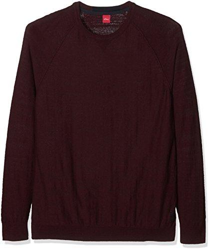 s.Oliver Big Size Herren Pullover Rot (Chianti Melange 39W0)