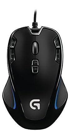 Logitech G300s - Ratón óptico (9 botones), negro