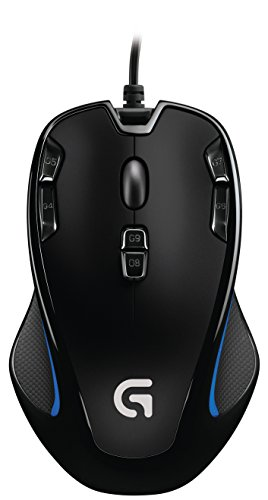 Logitech - Optical Gaming Mouse G300s (Windows 8.1)