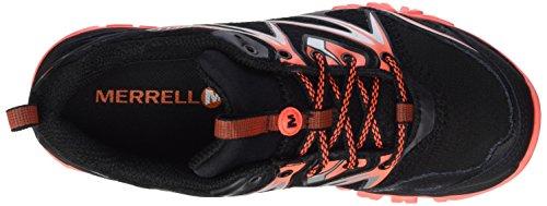 Merrell Capra Bolt Gore-Tex Damen Trekking- & Wanderhalbschuhe Mehrfarbig (Black/Coral)