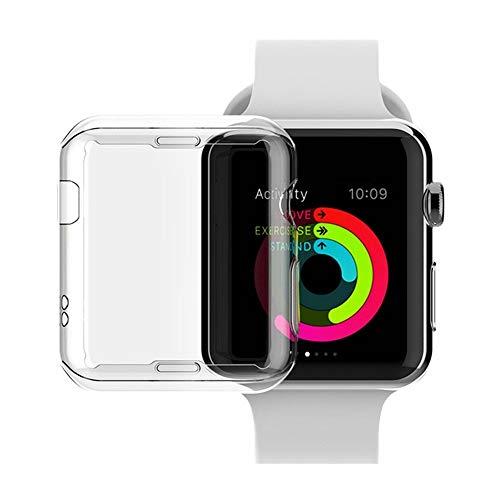 Tianzhiyi Bildschirmschutz beobachten TPU-Displayschutzfolie Ultra-dünnes Allround-Schutzgehäuse für Apple Watch Series 2/3 (Size : 42MM)
