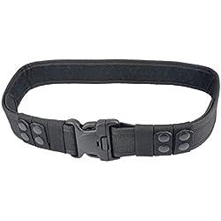 Pesada Guardia De Seguridad Deber Cinturón De Herramientas De Paramédicos De La Policía Del Ejército Negro