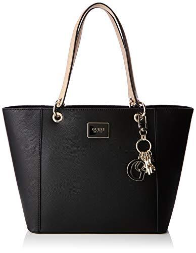 5959b779e702 Guess Kamryn Tote, Women's Shoulder Bag, Black, 42x26.5x15 cm (W