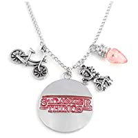 Stranger Things Eleven Pendant Necklace fashion alloy Sweater chain character necklace