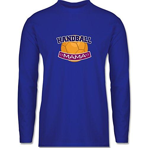 Shirtracer Handball - Handball Mama - Herren Langarmshirt Royalblau