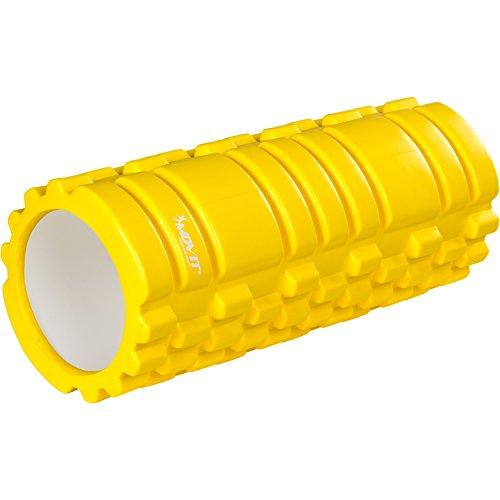 Movit Faszienrolle »Fascia«, schadstofffreie Massagerolle durch TÜV SÜD getestet, Foam-Roller für Faszien-Training durch Triggerpunkt-Selbstmassage, gelb, Größe: 33x14 cm
