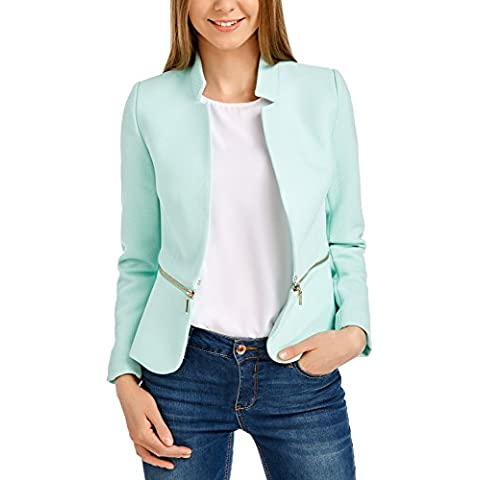 oodji Ultra Donna Blazer Trasformabile con Parte Inferiore Staccabile