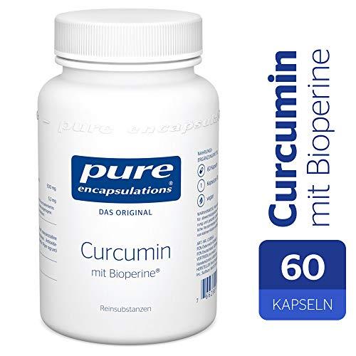 Pure Encapsulations - Curcumin 500 mit Bioperine® - Kurkumaextrakt Mit Optimierter Bioverfügbarkeit- 60 Veg. Kapseln
