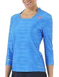 Bull padel Camiseta BULLPADEL VALBON Azul Mujer