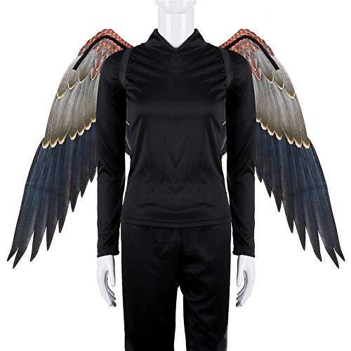 SparY Kostüm Cosplay Wings, Engel Kostüm Wings - Mardi Gras Kleid auf Karneval-Party Tier Kostüm Maskerade Requisiten - Wie Abgebildet Anzeigen, 110x70cm