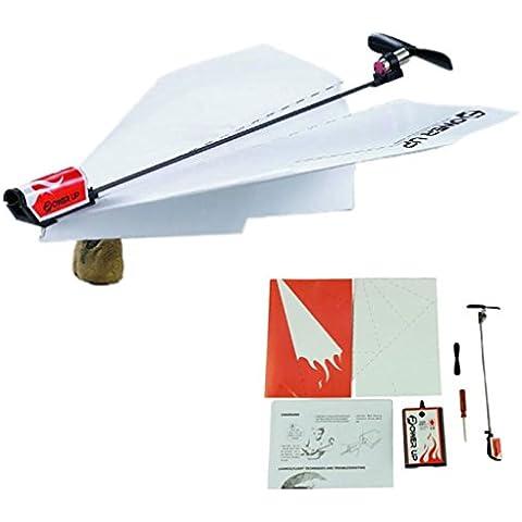 Toraway Avión de papel de la manera de Arranque eléctrico del aeroplano Kit de conversión de juguetes educativos
