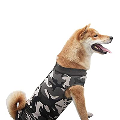 Easong New Soft Dog Surgery Clothes Medical Pet Surgical Suit Dog Shirt Coat Vest Increases Mobility Reduces Stress Accelerates Healing And Reduces Safe And Comfortable Anti Lick And Scratch from Easong
