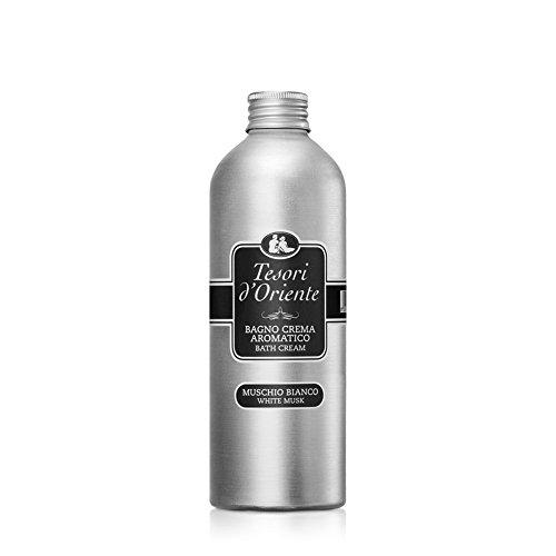 Tesori d Oriente Bagno Crema, Aromatica al Profumo di Muschio Bianco - 500  ml 5df3e42c1a90