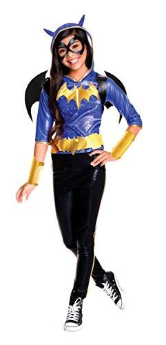 Rubie's Kinder Kostüm DC Superhero Girls Batgirl Deluxe Karneval 7 bis 9 - Lustig Super Hero Kostüm