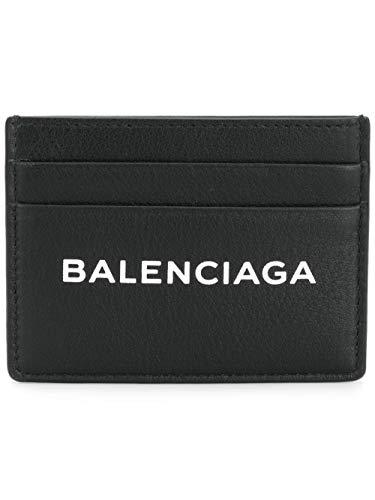 Balenciaga Herren 490620Dlq4n1000 Schwarz Leder Kreditkartenetui