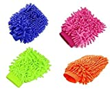 #4: AMR Microfiber multipurpose hand cleaning gloves set of 4 pcs.
